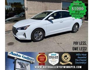 Used 2020 Hyundai Elantra preferred* B.tooth/Htd seats/Roof/B.cam for sale in Winnipeg, MB
