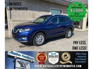 Used 2020 Nissan Rogue SV* Awd/B.cam/Htd seats/Roof for sale in Winnipeg, MB