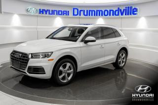 Used 2018 Audi Q5 PROGRESSIV + GARANTIE + NAVI + TOIT PANO for sale in Drummondville, QC