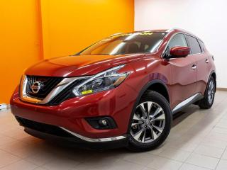 Used 2018 Nissan Murano SL CUIR AWD *TOIT PANO* NAVI *REG ADAPTATIF* PROMO for sale in Mirabel, QC