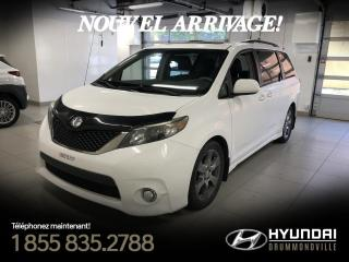 Used 2011 Toyota Sienna SE + GARANTIE + TOIT + CAMERA + A/C + MA for sale in Drummondville, QC