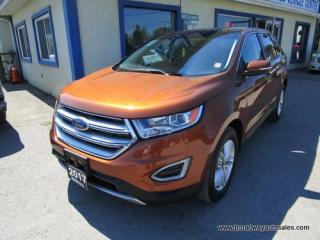 Used 2017 Ford Edge ALL-WHEEL DRIVE SEL MODEL 5 PASSENGER 3.5L - V6.. NAVIGATION.. LEATHER.. HEATED SEATS.. PANORAMIC SUNROOF.. BACK-UP CAMERA.. BLUETOOTH SYSTEM.. for sale in Bradford, ON