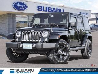 Used 2017 Jeep Wrangler Unlimited Sahara for sale in Sudbury, ON