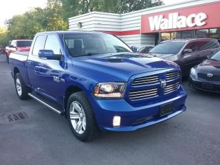Used 2016 RAM 1500 SPORT QUAD CAB 4WD for sale in Ottawa, ON