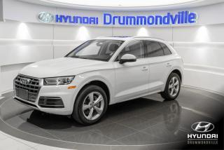 Used 2018 Audi Q5 2.0T PROGRESSIV + GARANTIE + NAVI + TOIT for sale in Drummondville, QC