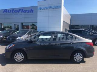 Used 2012 Hyundai Accent L *AUTO *BERLINE *A/C *MODE-ECO *MUSIC-AUX *RADIO for sale in St-Hubert, QC
