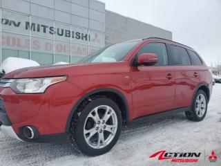 Used 2015 Mitsubishi Outlander SE TOURING 4WD +TOIT+MAGS 18po+HITCH+CAMÉRA RECUL for sale in St-Hubert, QC