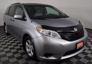 Used 2013 Toyota Sienna POWERFUL 3.5L V6, 7-PASSENGER, LOW KILOMETERS for sale in Huntsville, ON
