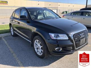 Used 2014 Audi Q5 QUATTRO KOMFORT 2.0L LEATHER HEATED SEATS for sale in Orillia, ON