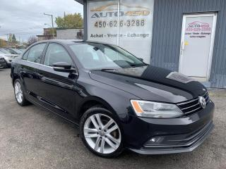 Used 2016 Volkswagen Jetta ***HIGHLINE,AUTOMATIQUE,CUIR,TOIT,MAGS** for sale in Longueuil, QC
