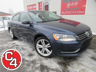 Used 2012 Volkswagen Passat CUIR TOIT MAGS BLUETOOTH for sale in St-Jérôme, QC