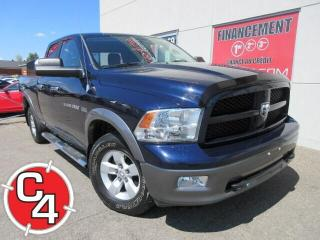 Used 2012 RAM 1500 OUTDOORSMAN 4X4 MAGS MARCHE-PIEDS GR.REMORQUAGE for sale in St-Jérôme, QC