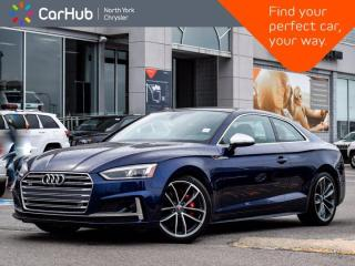 Used 2018 Audi S5 Coupe Technik Quattro Massage Seats Bang & Olufsen Sound Sunroof Navigation for sale in Thornhill, ON