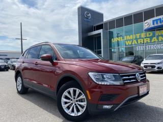 Used 2018 Volkswagen Tiguan Trendline AWD With Backup Camera for sale in Chatham, ON