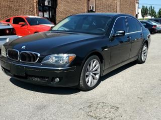 Used 2008 BMW 7 Series 4dr Sdn 750i for sale in Kitchener, ON