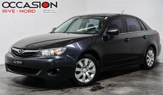 Used 2010 Subaru Impreza 4x4 Manuelle+Garantie 1 AN for sale in Boisbriand, QC
