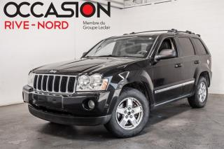 Used 2007 Jeep Grand Cherokee 4WD  Laredo 3.7 Cuir-Toit+++ for sale in Boisbriand, QC