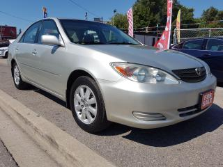 Used 2003 Toyota Camry LE-EXTRA CLEAN-ONLY 161K-SUNROOF-USB-AUX-ALLOYS for sale in Scarborough, ON