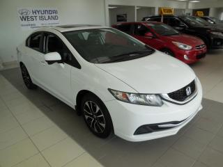 Used 2014 Honda Civic EX AUTO A/C CRUISE BT MAGS CAMÉRA for sale in Dorval, QC