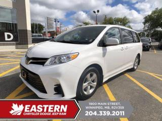 Used 2019 Toyota Sienna LE | 1 Owner | No Accidents | Adaptive Cruise Ctrl | for sale in Winnipeg, MB