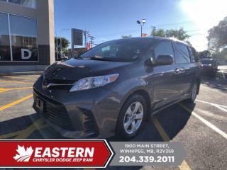 Used 2019 Toyota Sienna LE | 1 Owner | No Accidents | Adaptive Cruise Control | for sale in Winnipeg, MB