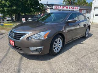 Used 2013 Nissan Altima Automatic/4 Cylinder/Bluetooth/Comes Certified for sale in Scarborough, ON