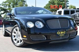 Used 2007 Bentley Continental GT - Mulliner - SOLD for sale in Oakville, ON