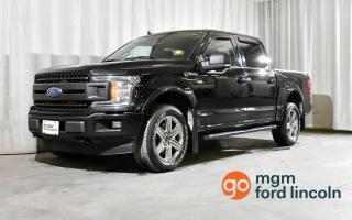 Used 2019 Ford F-150 XLT 4X4 SUPERCREW 145 WB | CLEAN CARFAX! TRAILER TOW | BACKUP CAMERA | BLUETOOTH HANDS FREE +MORE!! for sale in Red Deer, AB