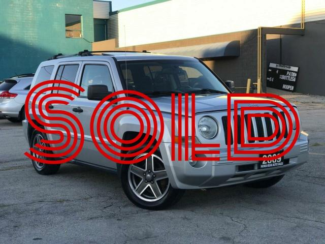 2009 Jeep Patriot 4WD|Limited|Leather|Sunroof|Accident free|Low Mile
