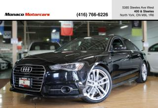 Used 2016 Audi A6 TECHNIK S-LINE 3.0T - ACC|BLINDSPOT|LANEKEEP|BOSE for sale in North York, ON