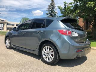 Used 2013 Mazda MAZDA3 Hatch Back GS-SKY Touring w Leather Int for sale in Mississauga, ON