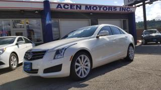 Used 2014 Cadillac ATS Luxury AWD for sale in Hamilton, ON