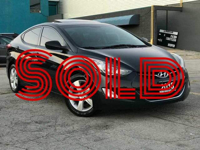 2013 Hyundai Elantra Manual|GLS|Sunroof|Bluetooth|Alloys Wheels