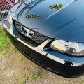 2002 Ford Mustang TRIPLE BLACK BEAUTY- 5-SPEED MANUAL CONVERTIBLE