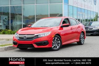 Used 2017 Honda Civic EX AUTO TOIT AUTO TOIT MAGS BLUETOOTH for sale in Lachine, QC