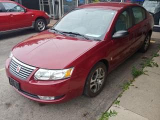 Used 2005 Saturn Ion Uplevel ***Drives Like New/Only 54,000 kms*** for sale in Hamilton, ON