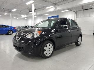 Used 2017 Nissan Micra SV - A/C + GROUPE ELECTRIQUE + JAMAIS ACCIDENTE !! for sale in Saint-Eustache, QC