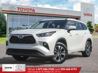 New 2020 Toyota Highlander HYBRID XLE for sale in Whitby, ON