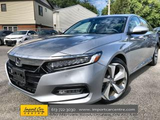 Used 2018 Honda Accord Touring HEADS UP DISPLAY  LEATHER  ROOF  NAVI  BLI for sale in Ottawa, ON