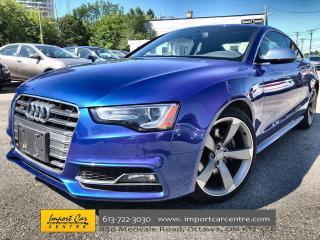 Used 2016 Audi S5 3.0T Technik LEATHER  ROOF  NAVI  BLIS  B&O  BACKU for sale in Ottawa, ON