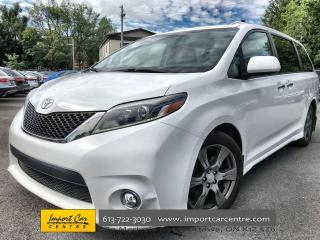 Used 2017 Toyota Sienna SE 8 Passenger ONLY 30 000KMS!!  LEATHER  8 PASS for sale in Ottawa, ON