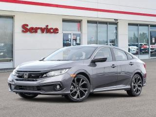 New 2020 Honda Civic Sedan Sport CVT for sale in Brandon, MB