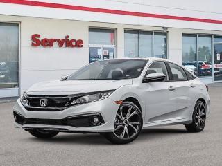 New 2020 Honda Civic Sedan Sport CVT for sale in Brandon, MB