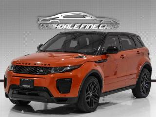 Used 2017 Land Rover Evoque Dynamic, 20' Rims, Navi, Cam, Pano, HUD, BlindSpot, for sale in Concord, ON