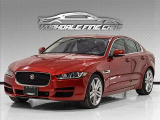 Used 2017 Jaguar XE SC Prestige V6, Navi, Roof, Cam, Cooled Seats, PDC, for sale in Concord, ON