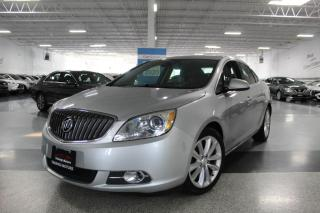 Used 2014 Buick Verano LEATHER I BIG SCREEN I REAR CAM I HEATED SEATS I BT for sale in Mississauga, ON