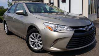 Used 2016 Toyota Camry LE - BACK-UP CAM! HEATED SEATS! ACCIDENT FREE! for sale in Kitchener, ON