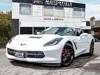 Used 2019 Chevrolet Corvette Stingray Cpe w/2LT *Head Up Display, Z51 Exhaust, Loaded* for sale in Scarborough, ON
