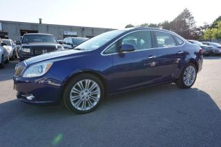 Used 2014 Buick Verano CONVC CERTIFIED 2YR WARRANTY *1 OWNER* CAMERA SUNROOF BLUETOOTH HEATED LEATHER ALLOYS for sale in Milton, ON