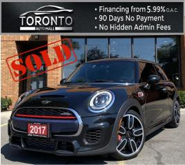 Used 2017 MINI Cooper **SOLD** John Cooper Works NAVI Sunroof Leather Heated Seats One Owner Clean Carfax for sale in North York, ON